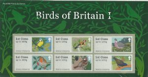 _P&G2 Birds of Britain I Post & Go Pack